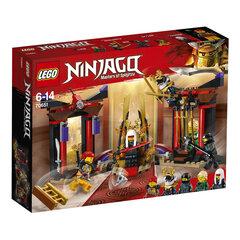 70651 LEGO® NINJAGO, Lemiamas mūšis sosto kambaryje