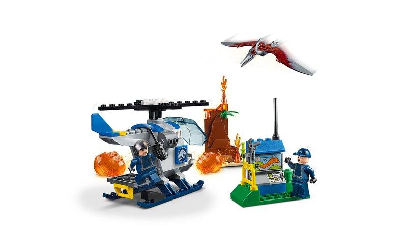 10756 LEGO® JUNIORS, Pteranodono pabėgima