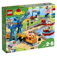 10875 LEGO® DUPLO, Krovininis traukinys kaina ir informacija | Konstruktoriai ir kaladėlės | pigu.lt