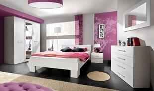 Miegamojo baldų komplektas Vicky 160, baltas