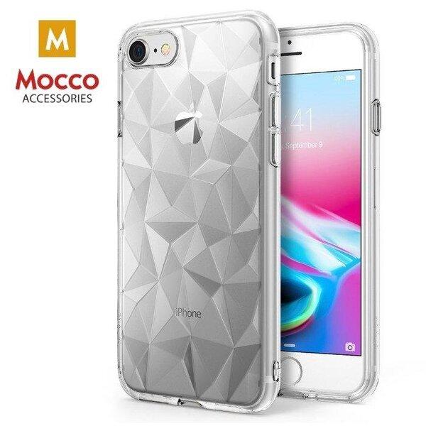 Apsauginė nugarėlė Mocco Trendy Diamonds, skirta Apple iPhone X telefonui, skaidri