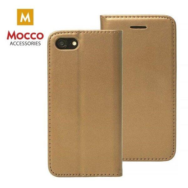 Atverčiamas dėklasMocco Smart Modus, skirtas Samsung A520 Galaxy A5 (2017)telefonui, tamsiai auksinis