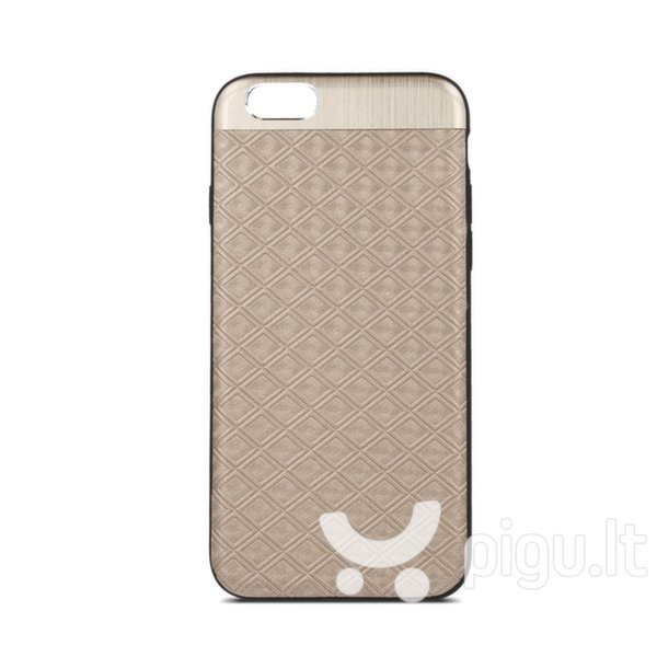 Apsauginis dėklas Beeyo Skin Silicone Back Case With Mirror Apple iPhone X Beige