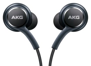 Ausinės Samsung EO-IG955BWEGCN AKG Galaxy S8 / S8+ Stereo Headset with Microphone 1.2m Cable Gray (EU Blister)
