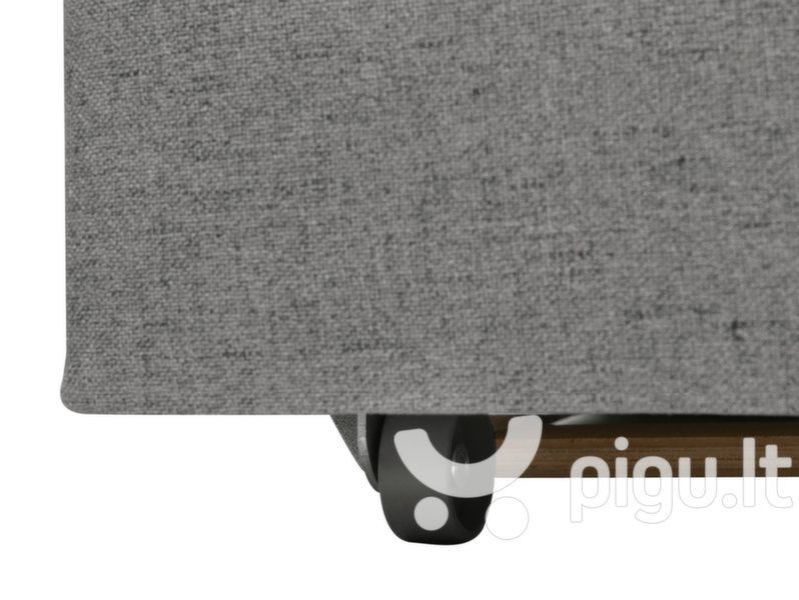 Sofa Liam 1,5BK, pilka