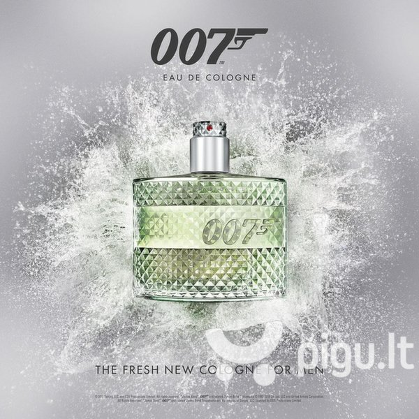 Odekolonas James Bond 007 EDC vyrams 50 ml internetu