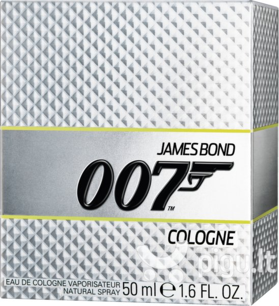 Odekolonas James Bond 007 EDC vyrams 50 ml kaina