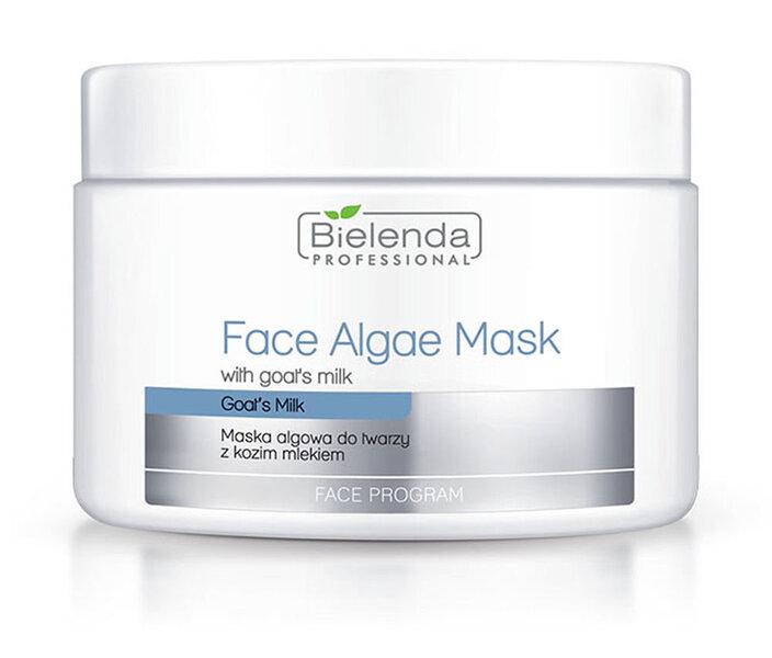 Veido kaukė nuo raukšlių su ožkų pienu Bielenda Professional Face Program Face Algae 190 g