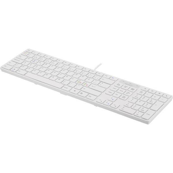 Klaviatūra DELTACO balta / TB-229-LT
