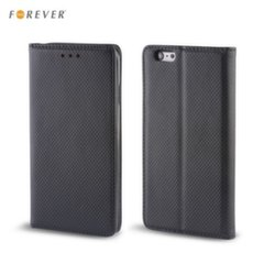 Forever Smart Magnetic Fix Book Case without clip Huawei Honor 10 Black kaina ir informacija | Telefono dėklai | pigu.lt