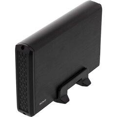 "HDD dėžutė DELTACO SATA 3.5"" USB 3.0, juoda / MAP-GD33U3"