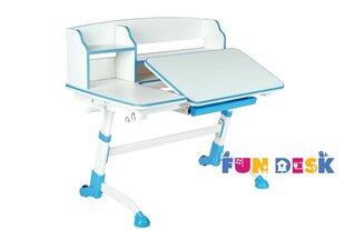 Augantis vaikiškas stalas FunDesk Amare II, mėlynas/baltas