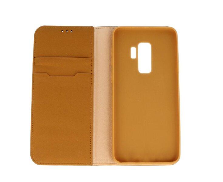 Dux Ducis Wish Magnet Case Чехол из натуральной кожи для телефона Apple iPhone 7 Plus / 8 Plus Коричневый отзыв