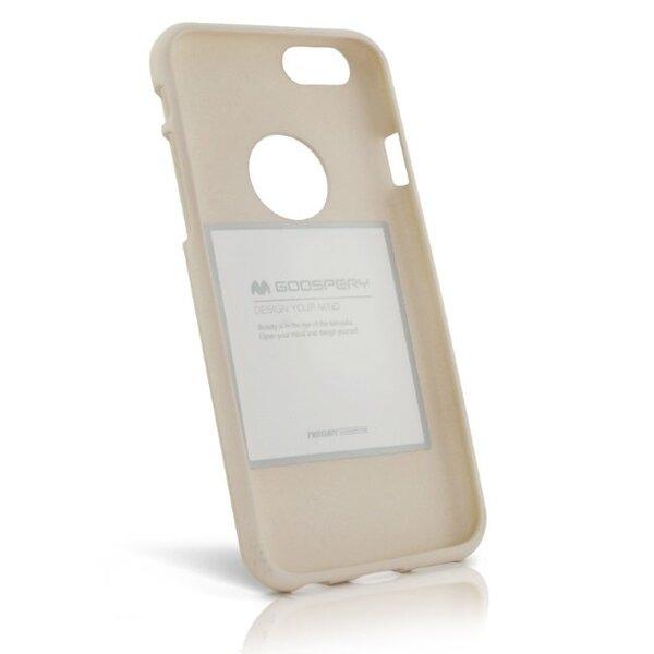 Mercury Soft feeling TPU Супер тонкий чехол-крышка с матовой поверхностью для Samsung A530F Galaxy A5 (2018) / A8 (2018) Бежевый интернет-магазин