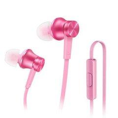 Ausinės Xiaomi Piston Fresh su mikrofonu, rožinės spalvos
