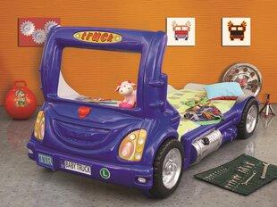 Lova su čiužiniu Truck, mėlyna