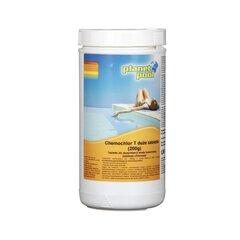 Baseino vandens priežiūros priemonė Planet Pool Chemochlor T, 200G 5 vnt / 1 kg