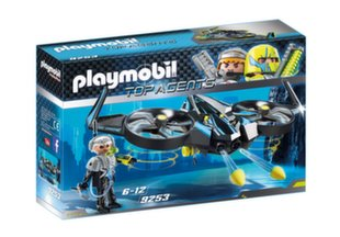 9253 PLAYMOBIL® Top Agents, Mega dronas