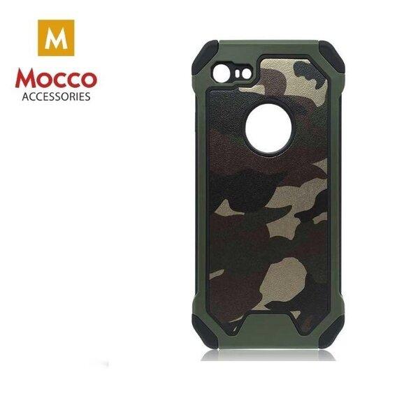 Mocco PANZER Back Case Силиконовый чехол для Apple iPhone X Армейский