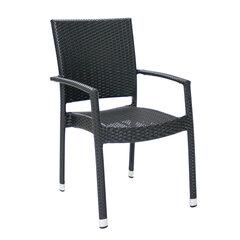 Kėdė Wicker 3, juoda
