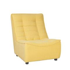 Fotelis Concord, 87x72x98 cm, geltonas kaina ir informacija | Sofos, foteliai ir minkšti kampai | pigu.lt