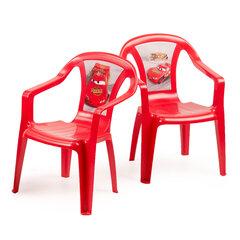 Vaikiška kėdė Disney, tamsiai raudona