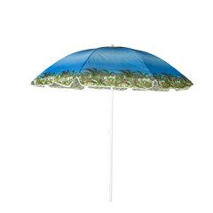 Lauko skėtis Sunny Beach, mėlynas/žalias