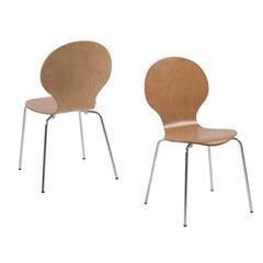 4-ių kėdžių komplektas Actona Marcus, rudas kaina ir informacija | Virtuvės ir valgomojo kėdės | pigu.lt
