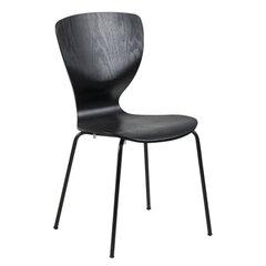 4-ių kėdžių komplektas Gongli, juodas