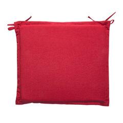 Pagalvėlė kėdei Florida, raudona kaina ir informacija | Pagalvės, užvalkalai, apsaugos | pigu.lt