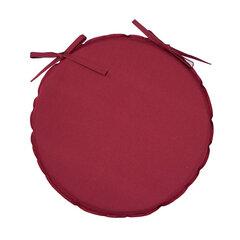 Pagalvėlė kėdei Ohio, 38x38 cm, raudona kaina ir informacija | Pagalvės, užvalkalai, apsaugos | pigu.lt