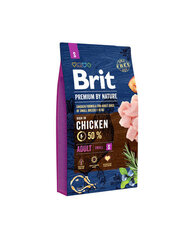 BRIT Premium By Nature Adult Small S 8 kg kaina ir informacija | BRIT Premium By Nature Adult Small S 8 kg | pigu.lt