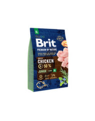 BRIT Premium By Nature Junior Extra Large XL 3 kg kaina ir informacija | BRIT Premium By Nature Junior Extra Large XL 3 kg | pigu.lt
