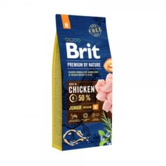 BRIT Premium By Nature Junior Medium M,1 kg