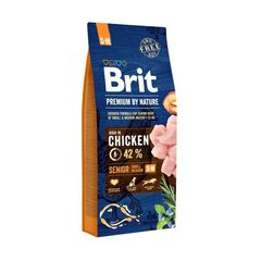 BRIT Premium By Nature Senior Small Medium S+M,3 kg kaina ir informacija | BRIT Premium By Nature Senior Small Medium S+M,3 kg | pigu.lt