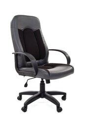 Biuro kėdė Chairman 429, juoda/pilka