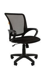 Biuro kėdė Chairman 969, juoda kaina ir informacija | Biuro kėdės | pigu.lt