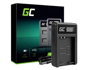 Green Cell Battery Charger BCN-1 for Olympus BLN-1/BCN-1, PEN-F, OM-D EM1, EM5, OM-D E-M5 Mark II