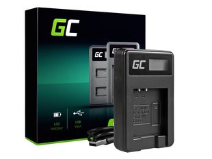 Green Cell Battery Charger LI-50C for Olympus LI-50B, SZ-15, SZ-16, Tough 6000, 8000, TG-820, TG-830, TG-850, VR-370