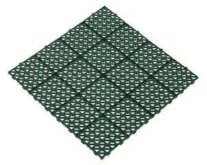 Plastikinė plytelė 33x33cm žalia kaina ir informacija | Terasos grindys | pigu.lt