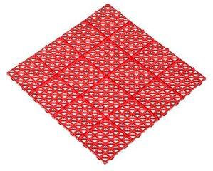 Plastikinė plytelė 33x33cm raudona