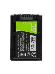 Green Cell®for Sony DCR-DVD506E DCR-DVD510E HDR-CX116E HDR-CX130 HDR-CX155E HDR-UX9E 7.2V 700mAh