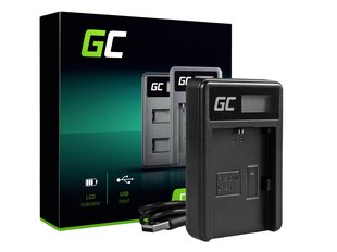 Green Cell Battery Charger LC-E6 for Canon LP-E6, EOS 70D, 5D Mark II/ III, 80D, 7D Mark II, 60D, 6D, 7D
