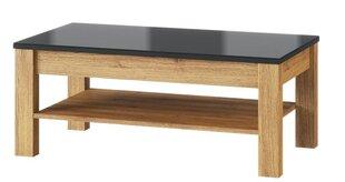 Kavos staliukas Kama 41, rudas kaina ir informacija | Kavos staliukai | pigu.lt