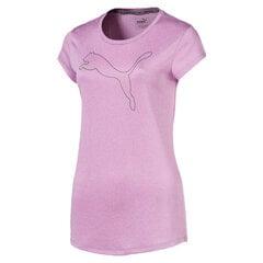 Marškinėliai moterims Puma Active Logo Heather kaina ir informacija | Sportinė apranga moterims | pigu.lt