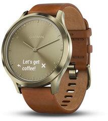 Garmin Vivomove HR Premium, S/M, Auksinė kaina ir informacija | Išmanieji laikrodžiai ir apyrankės (smartwatch, smartband) | pigu.lt