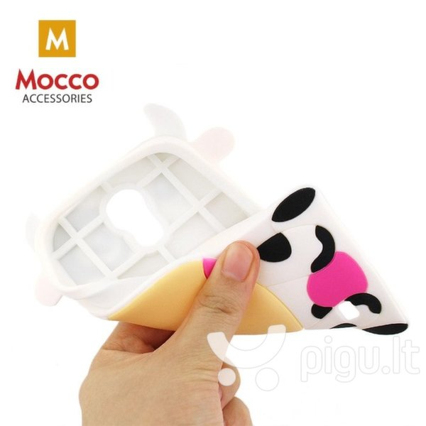 Apsauginis dėklas Mocco 3D Cow, Apple iPhone 6 / 6S цена