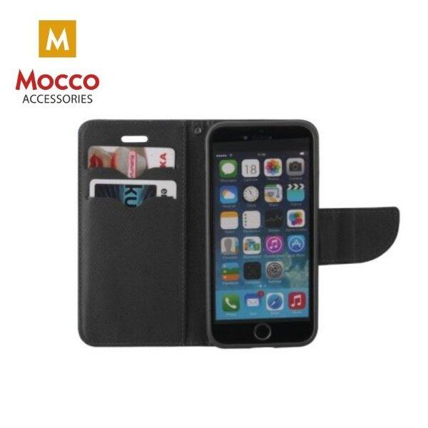 Mocco Fancy Book Case For Samsung J400 Galaxy J4 (2018) Black atsiliepimas