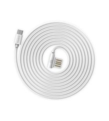Remax Rayen RC-075a Universal Silicone USB to Type-C Data & Charger Cable 1m White
