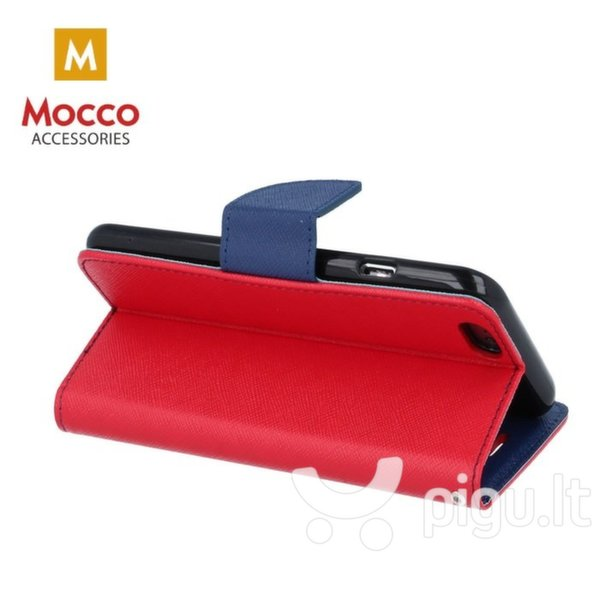 Mocco Fancy Book Case For Xiaomi Redmi Note 5 Pro Red - Blue atsiliepimas